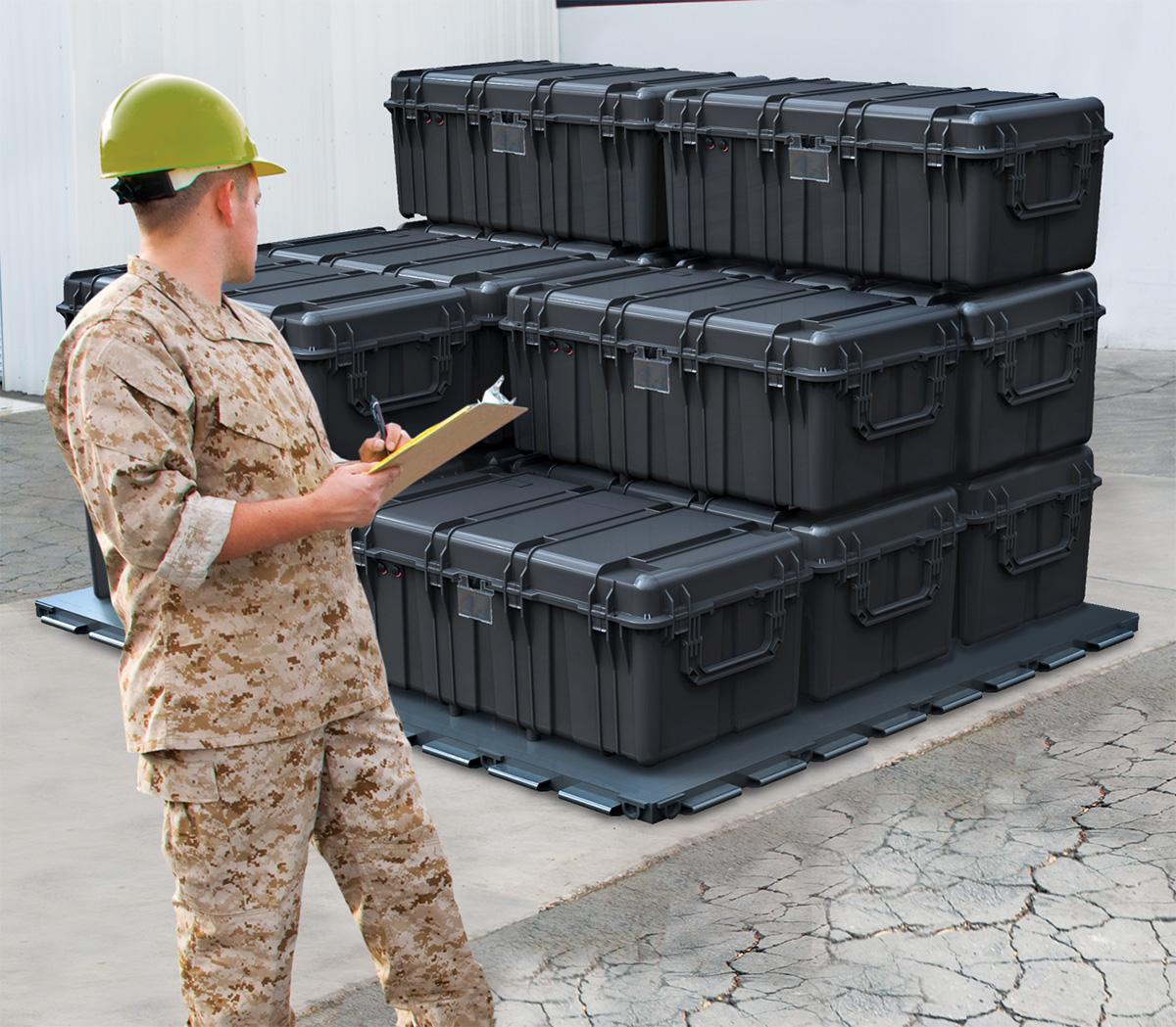 pelican peli products 0550 military gear transport hardcase