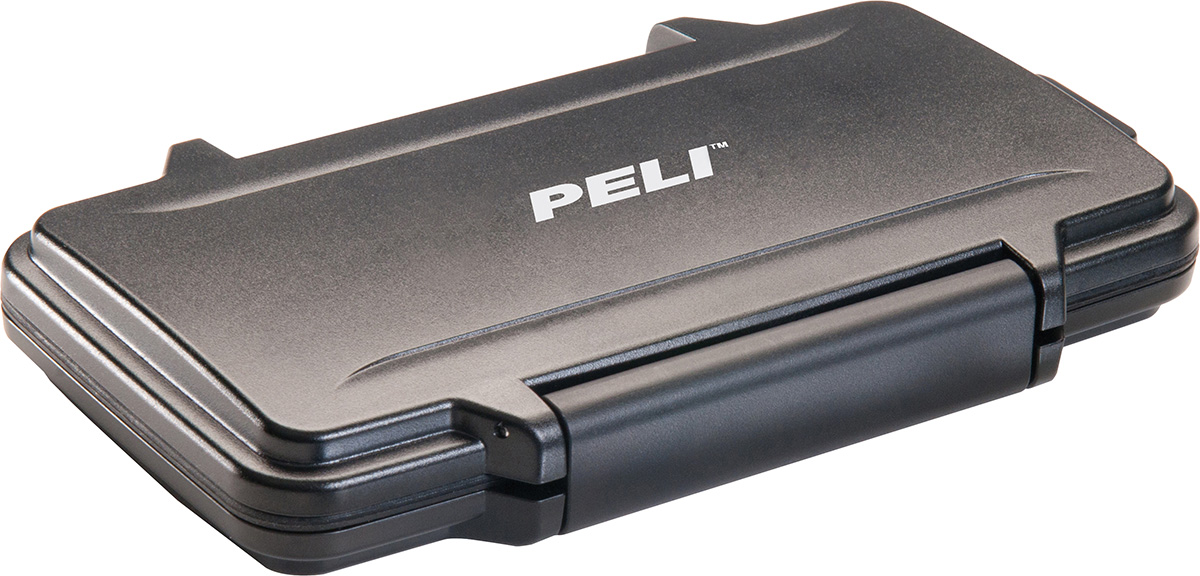 peli pelican products 0915 camera memory sd card case