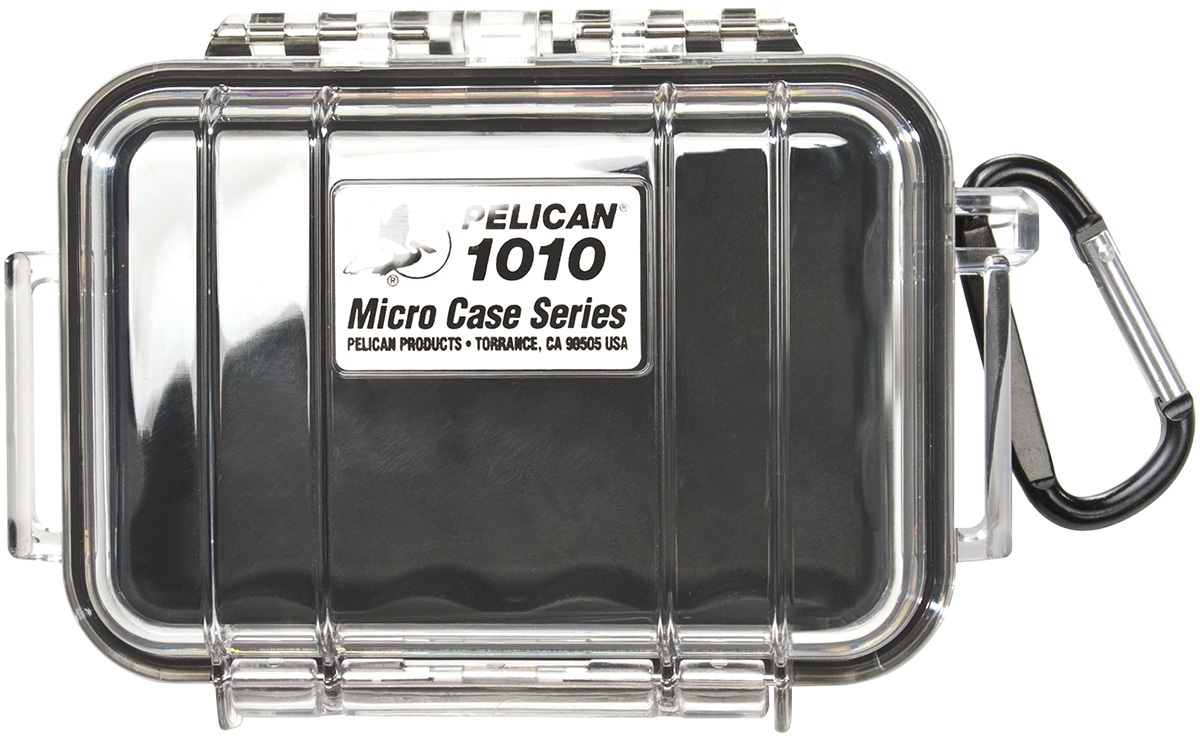 pelican peli products 1010 waterproof electronics phone micro case
