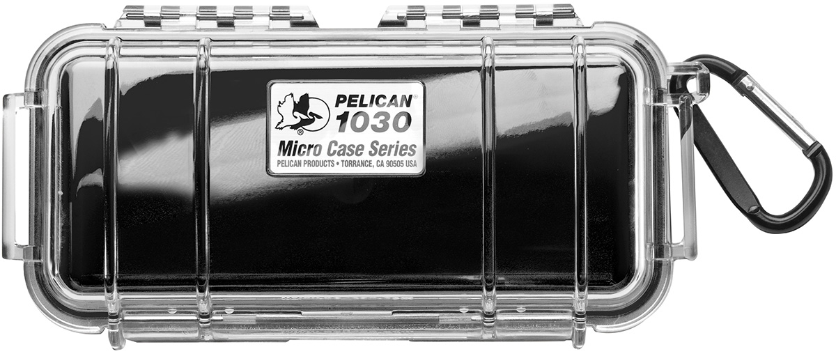 pelican peli products 1030 watertight black protective case
