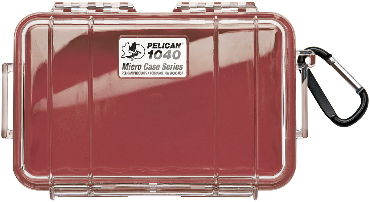 pelican peli products 1040 protective red secure hardcase