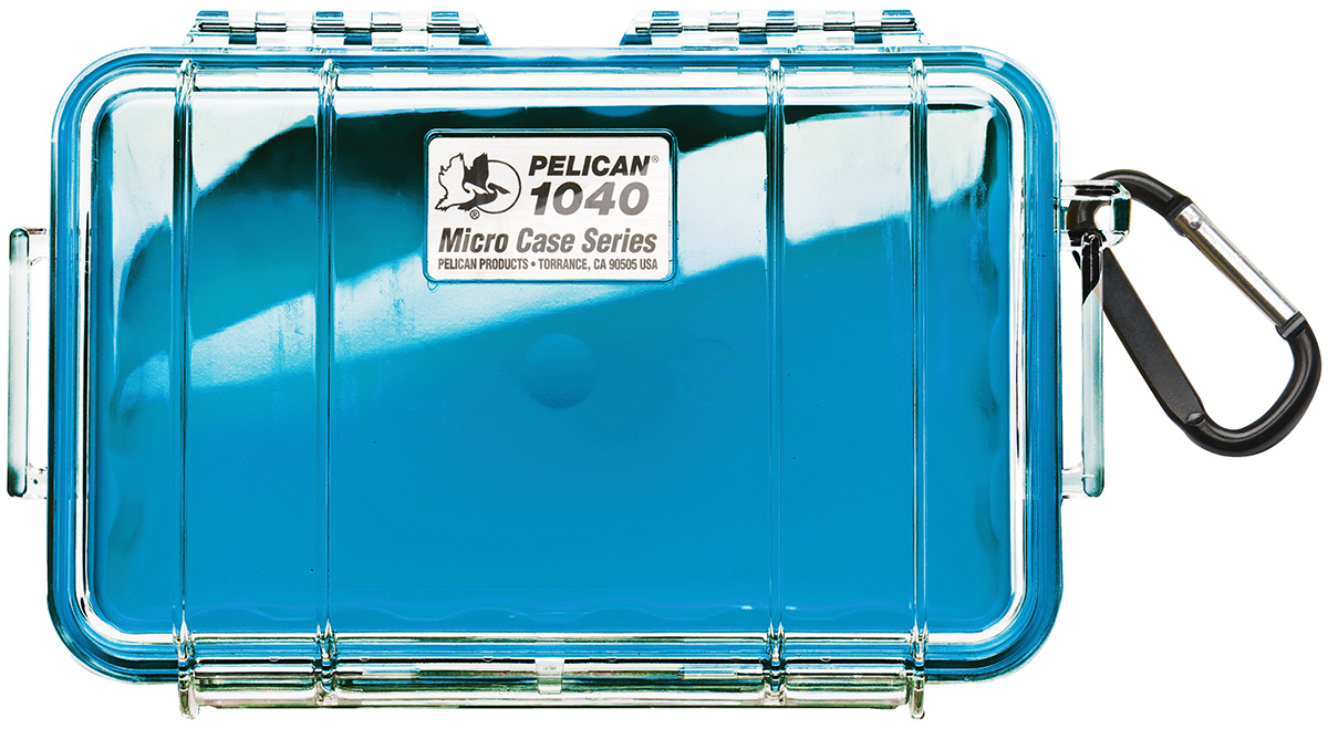 pelican peli products 1040 watertight blue hardcase