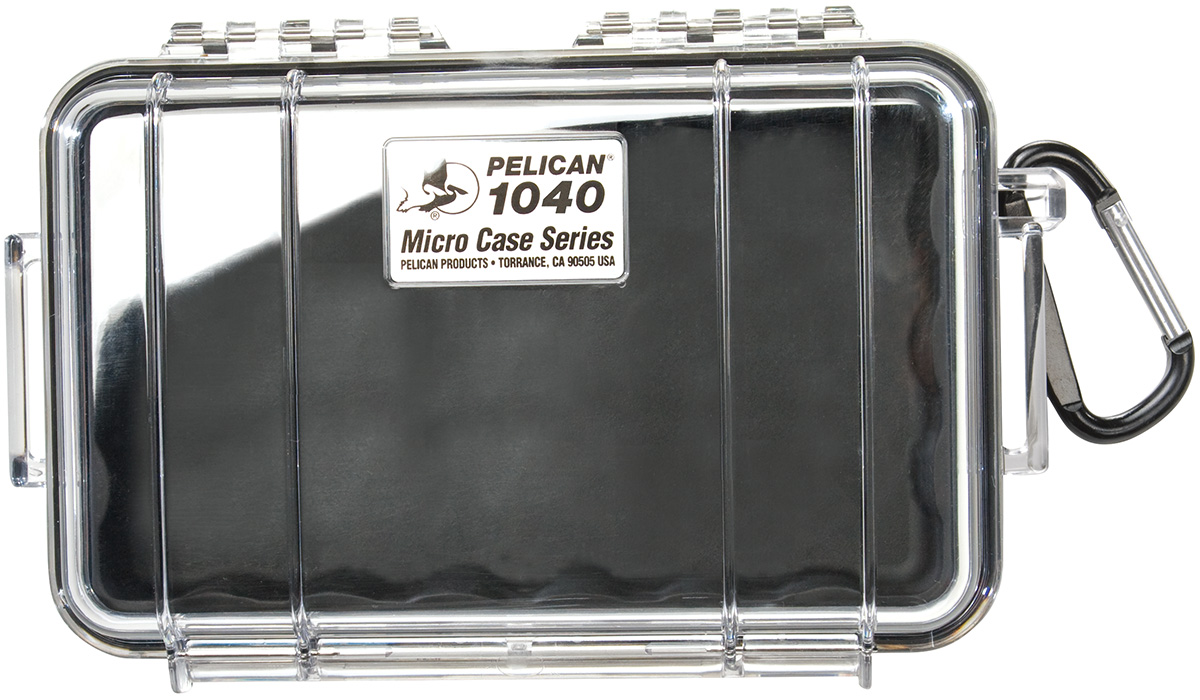 pelican peli products 1040 waterproof electronics protection case
