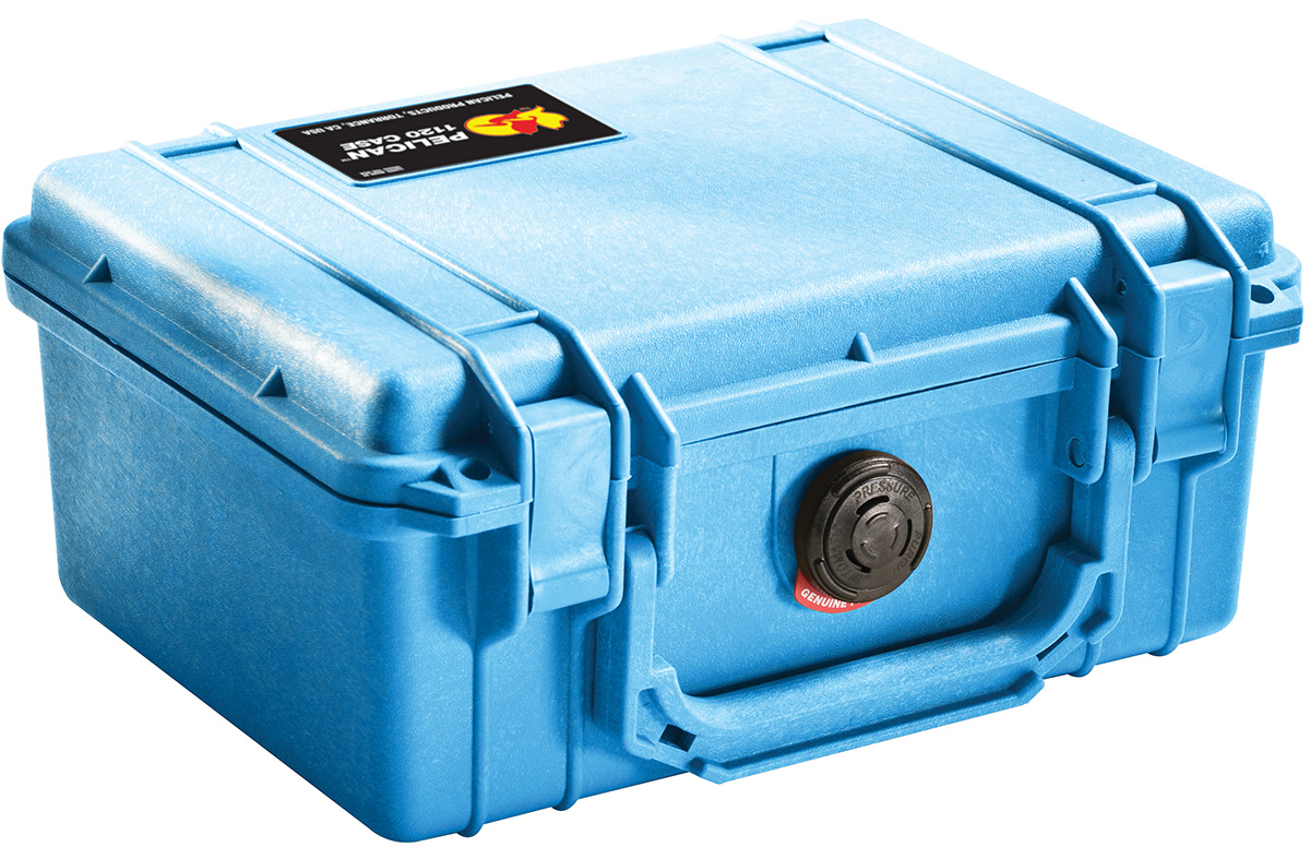 pelican peli products 1150 blue protective camera hard case