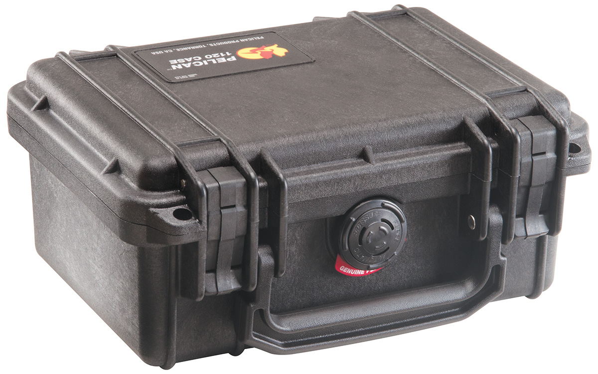 pelican peli products 1120 hard gopro pistol gun rigid case