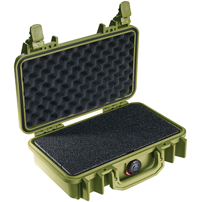 pelican peli products 1170 watertight hunting gun pistol case