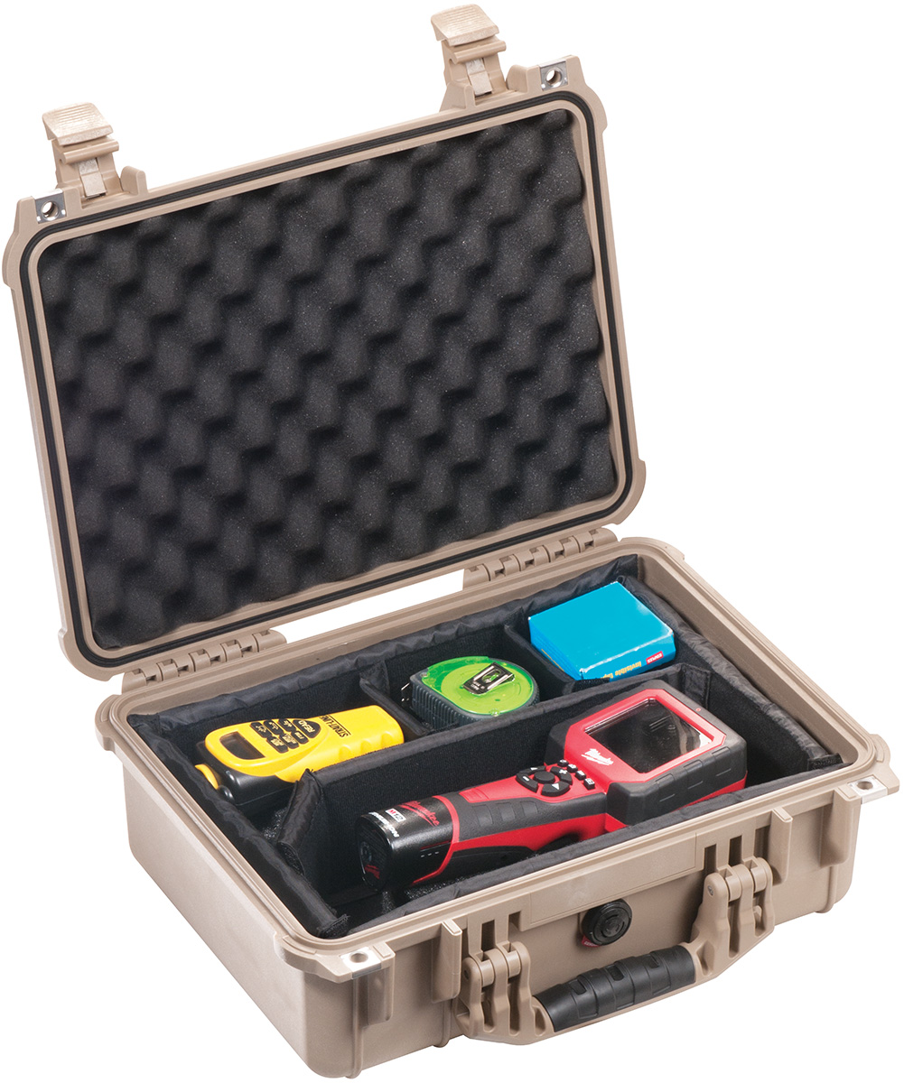 pelican peli products 1450 watertight usa made hard case
