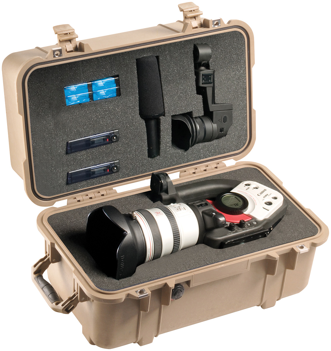 pelican peli products 1460 hard canon video camera protection case
