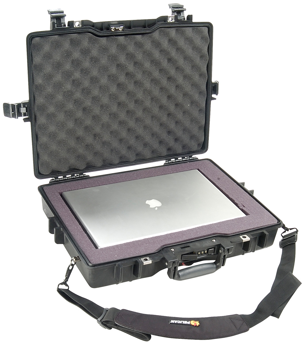 pelican peli products 1495 secure laptop carry macbook case