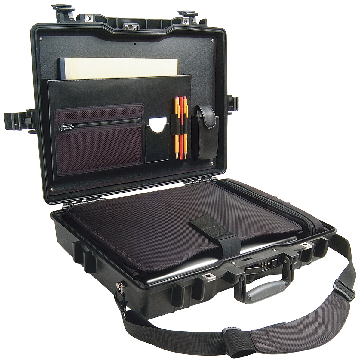 pelican peli products 1495CC1 secure laptop travel computer case