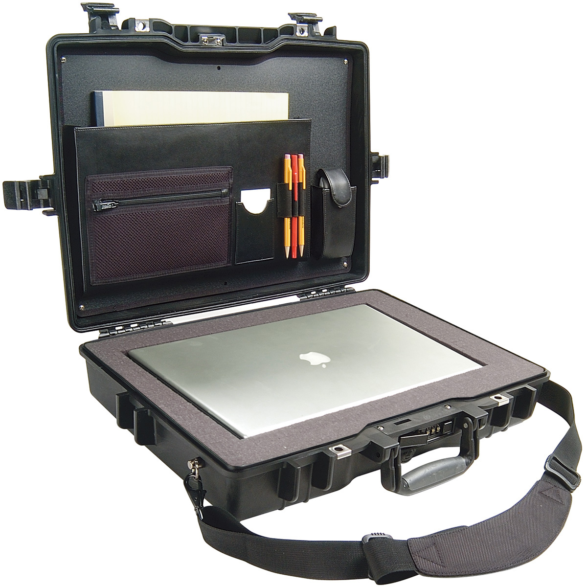 pelican peli products 1495CC2 secure laptop travel macbook case