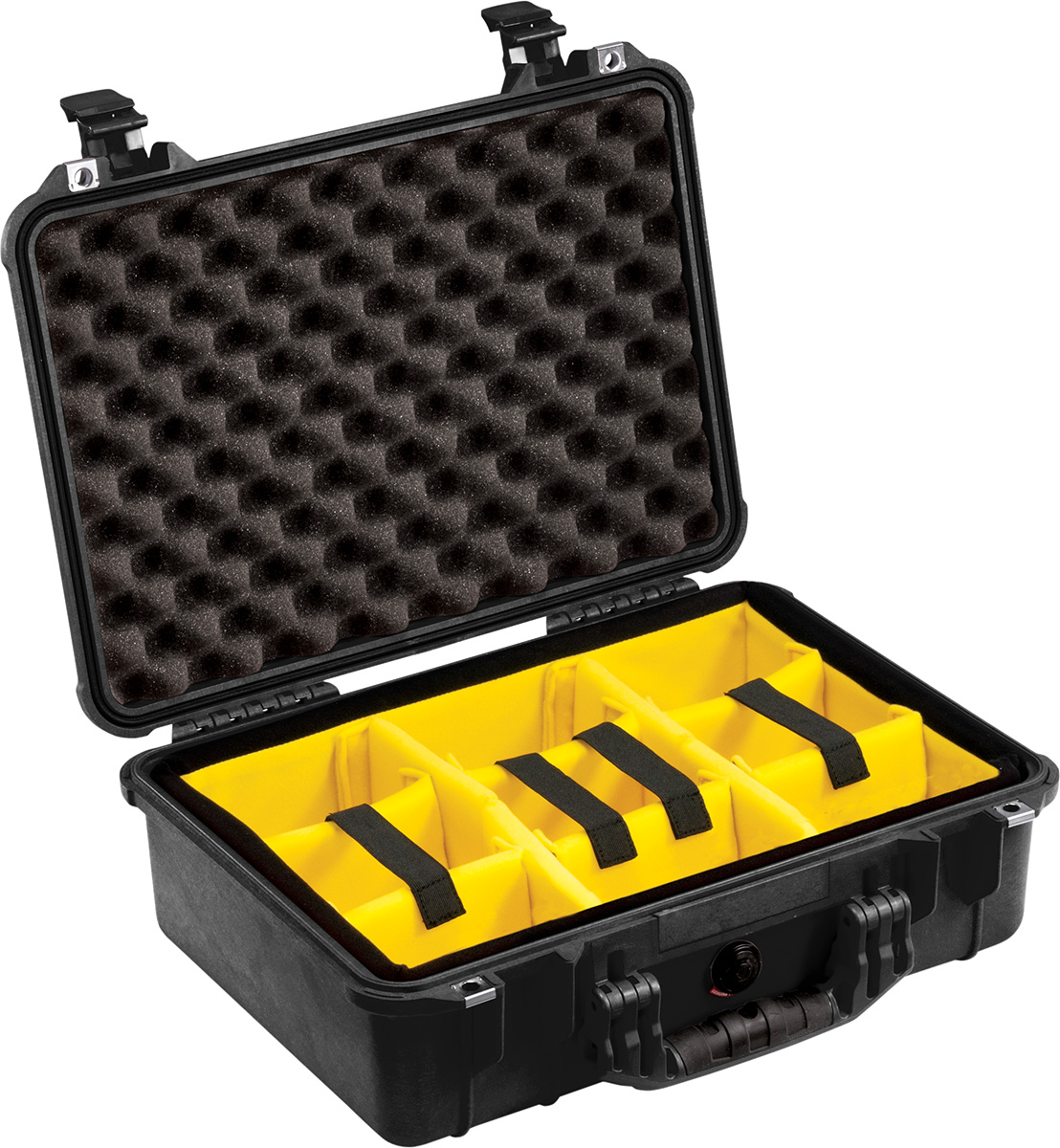 pelican camera cases padded dividers waterproof case