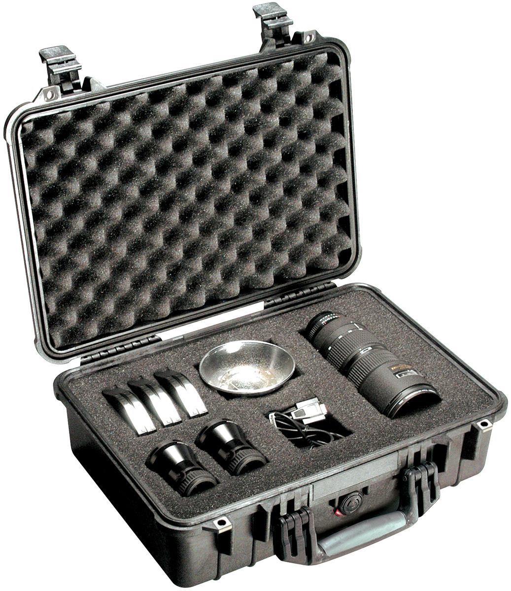 pelican peli products 1500 watertight lens photographer case