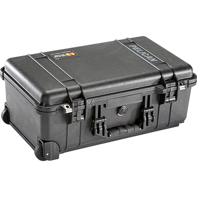 pelican peli products 1510 hard rolling travel carry on case