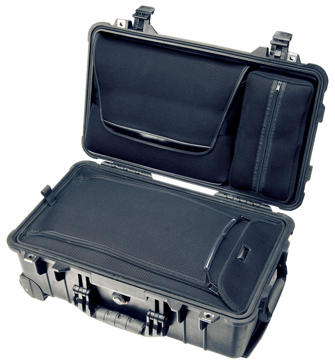 pelican peli products 1510LOC hard suitcase travel laptop case