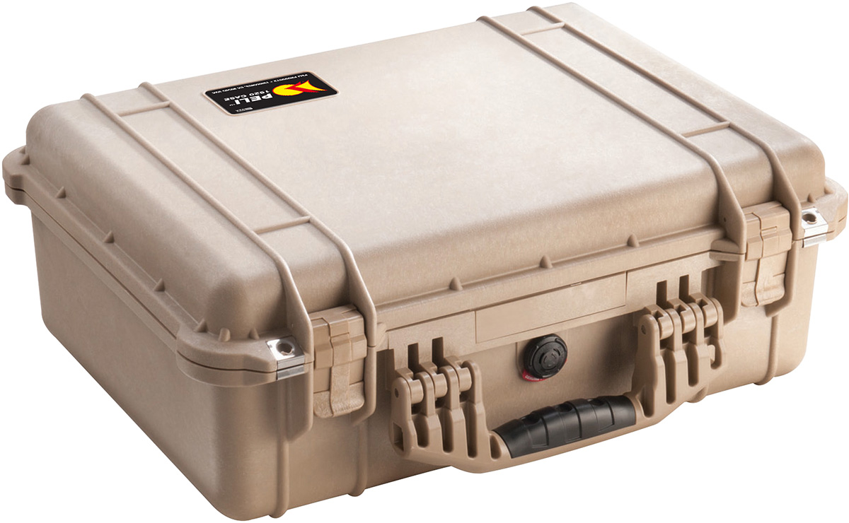 peli pelican products 1520 watertight camera hard case pelicase