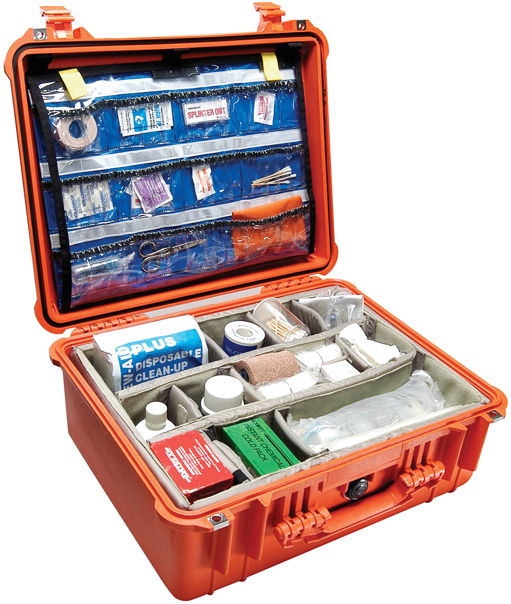 pelican peli products 1550EMS medical emt first aid case