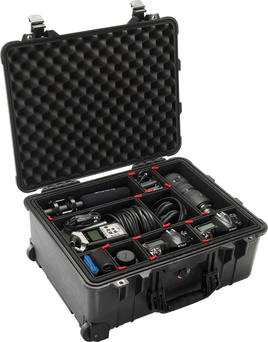 pelican camera cases 1560tp trekpak camera case