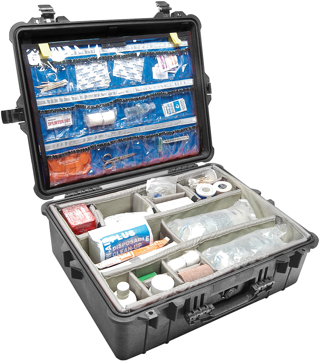 pelican peli products 1600EMS doctor nurse ambulance hard case