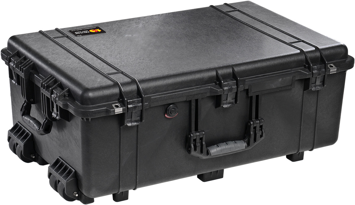 pelican peli products 1650 big mobile wheeled hard case