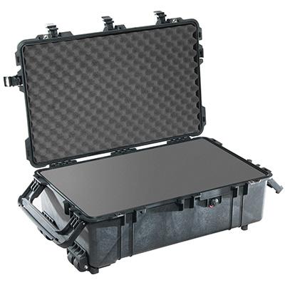 1670 maleta grande negra con espuma