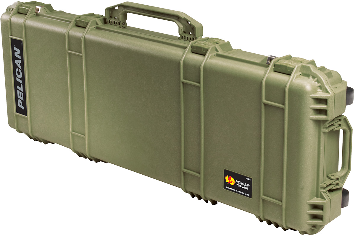 pelican peli products 1720 us military green rifle ar15 card case