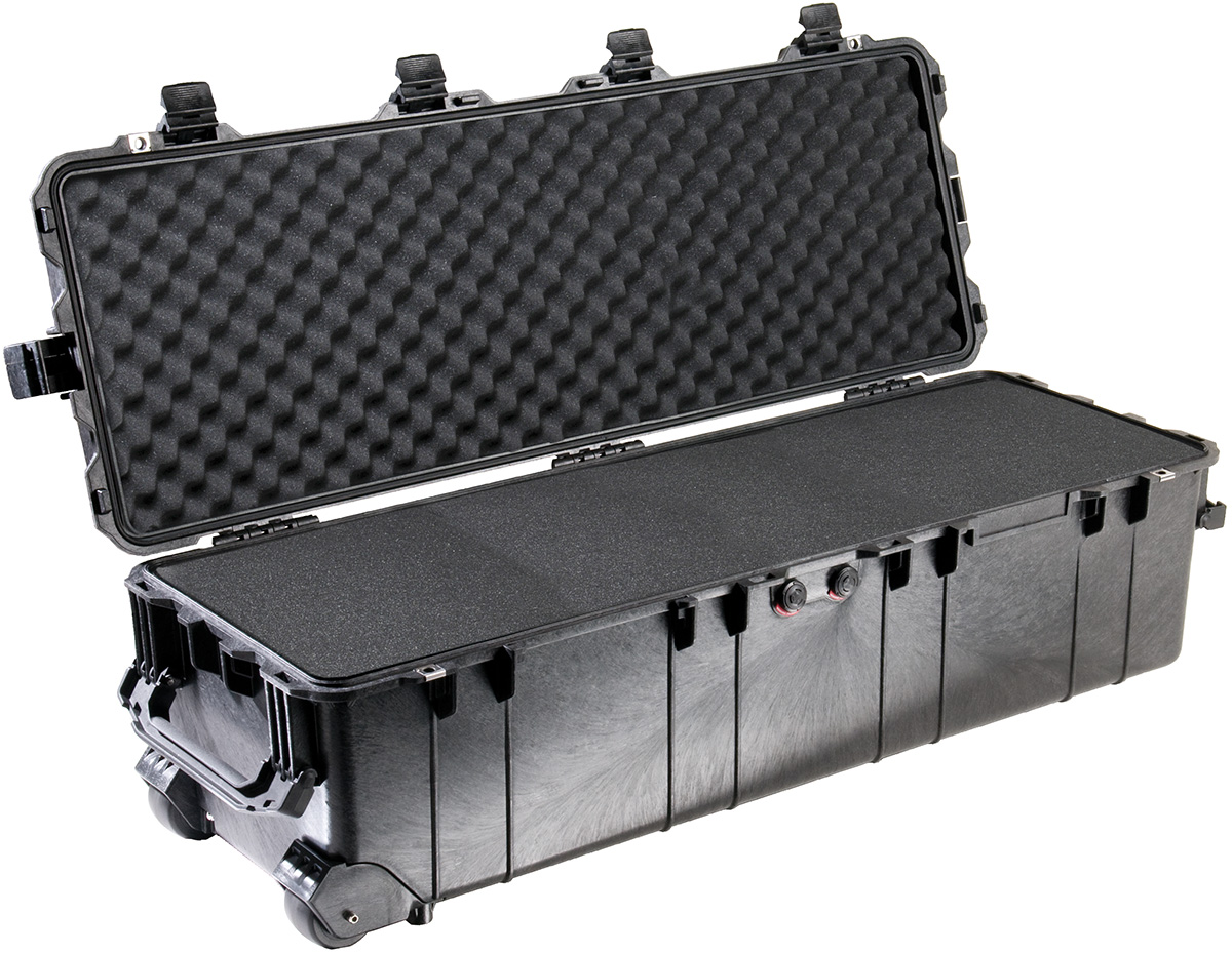 pelican peli products 1740 police tactical weapons long case