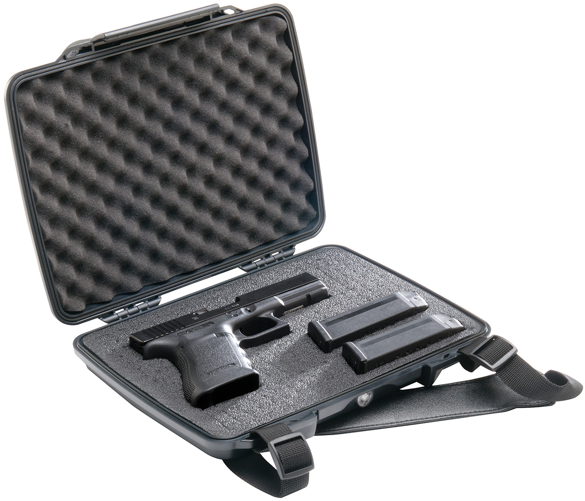 pelican peli products P1075 hard pistol gun waterproof case