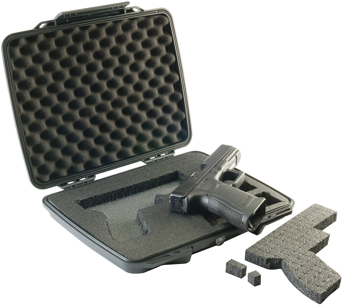 pelican peli products P1075 usa made pistol gun hard case
