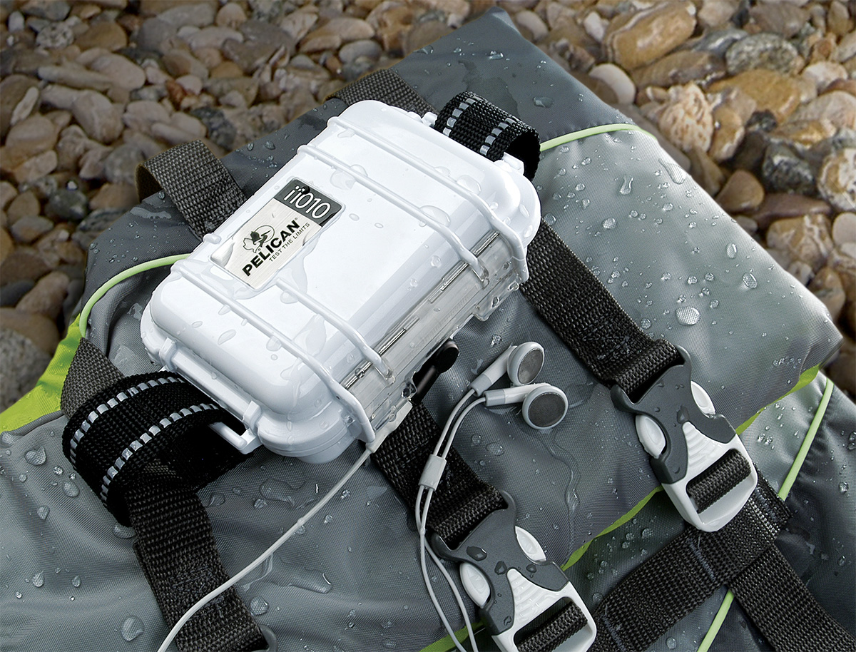 pelican peli products i1010 ipod watertight boat case