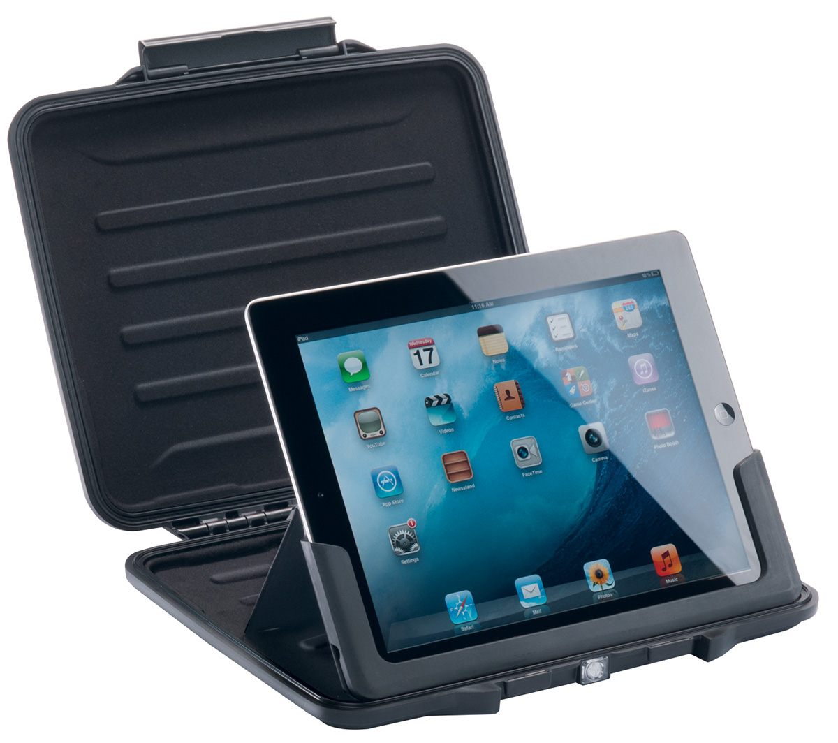 pelican peli products i1065 waterproof ipad protective case