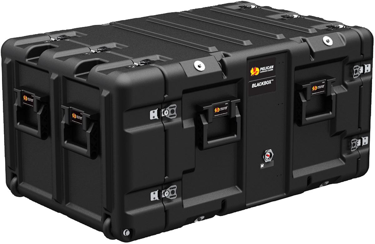 pelican peli products 7u blackbox hardigg server rack mount blade pc computer case