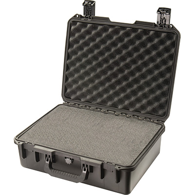 Peli-Storm iM2400 maleta con espuma, negra