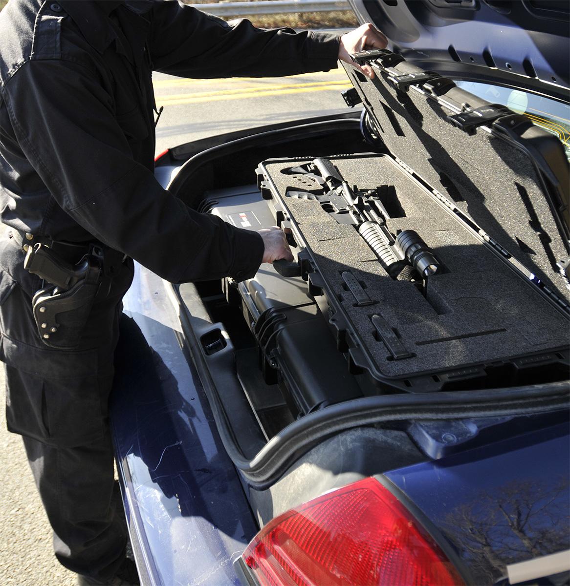 pelican peli products iM3100 police long rifle hard gun cases