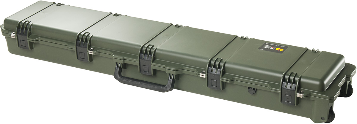 pelican peli products iM3410 hardigg green usa made rifle case