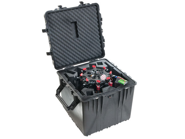 Pelican Custom Case foam for Drones