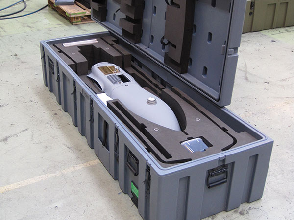Pelican custom foam case customized cases