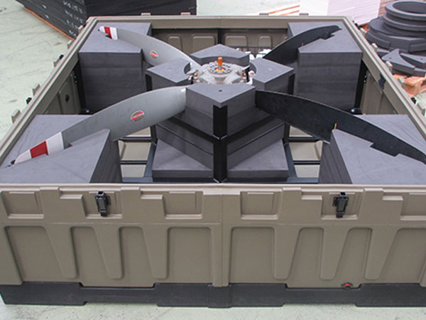 Pelican custom cases propeller aviation case