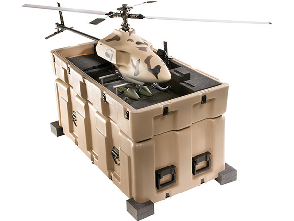 Pelican custom military drone cases