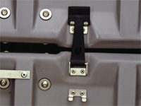 Pelican case latches coupling