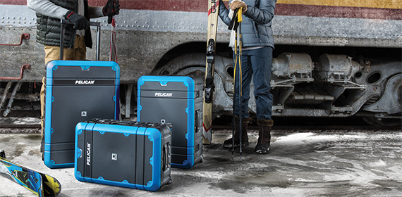 pelican products usa made hard rolling suitcases