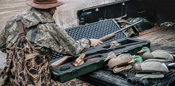 pelican products usa made hunting rifle case hard cases