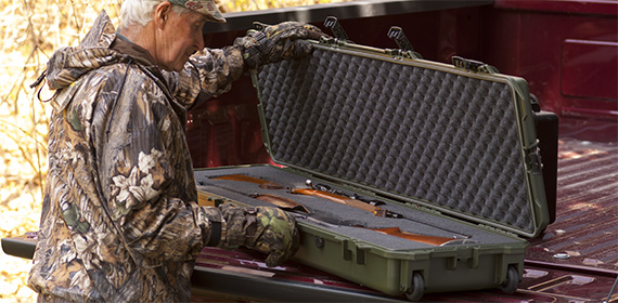 pelican products hard gun cases and pistol cases for hunting
